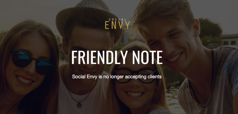Social Envy Alternatives & Similar Websites